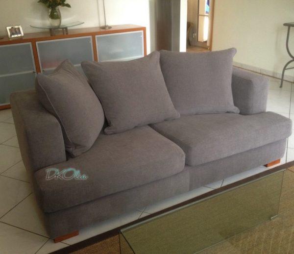 Rénovation canapé confortable moderne