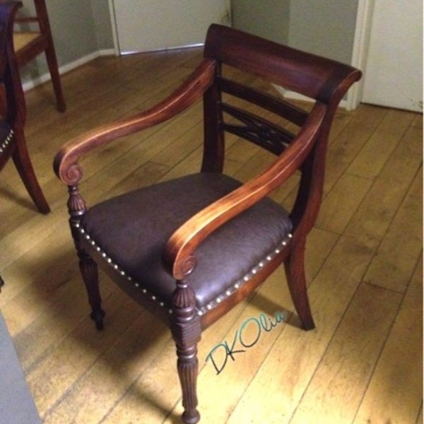 Rénovation fauteuil de bureau
