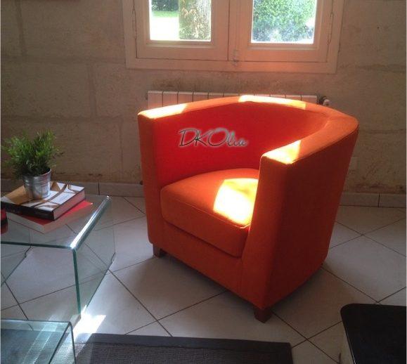 Rénovation fauteuil tonneau