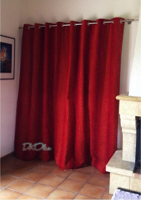 rideaux sur oeillets tapissier d corateur bordeaux dkolia. Black Bedroom Furniture Sets. Home Design Ideas